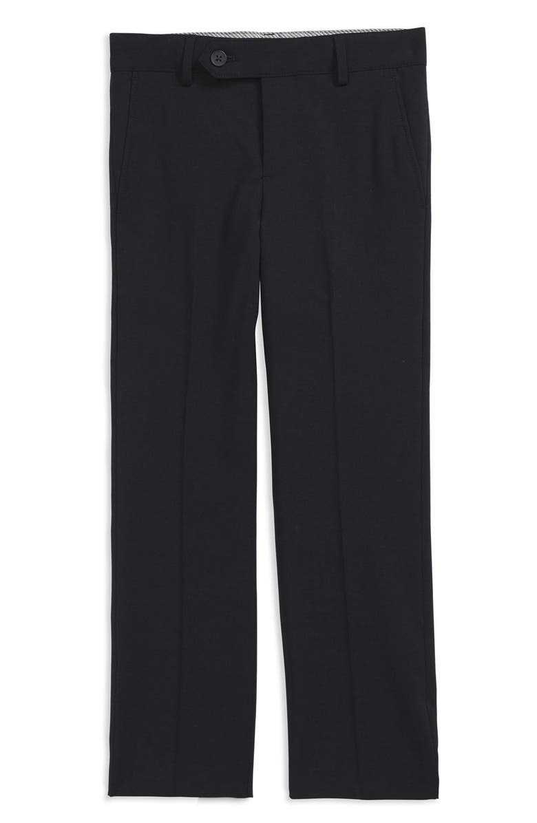 NORDSTROM 'Parker' Modern Fit Stretch Trousers, Main, color, 410
