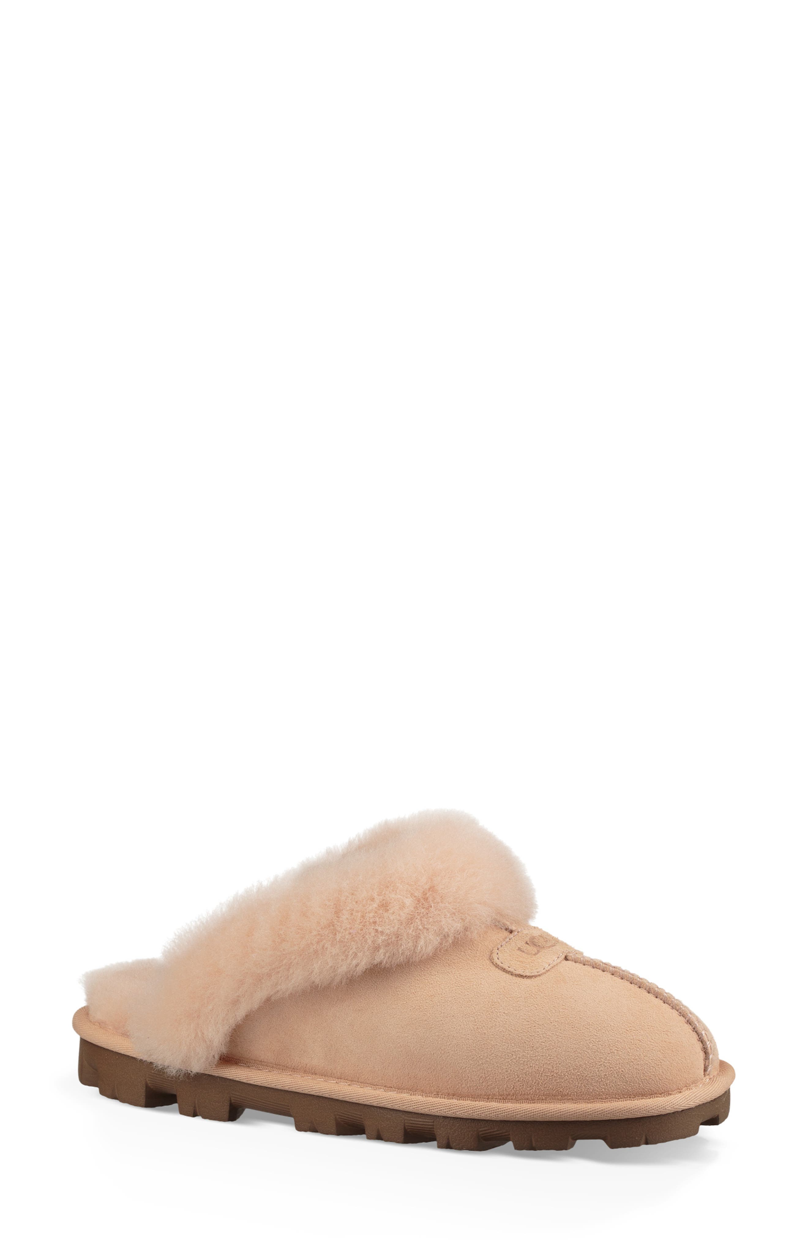 ,                             Genuine Shearling Slipper,                             Main thumbnail 83, color,                             652