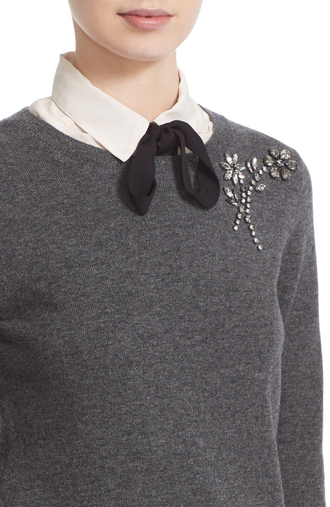 ,                             embellished sweater,                             Alternate thumbnail 9, color,                             031