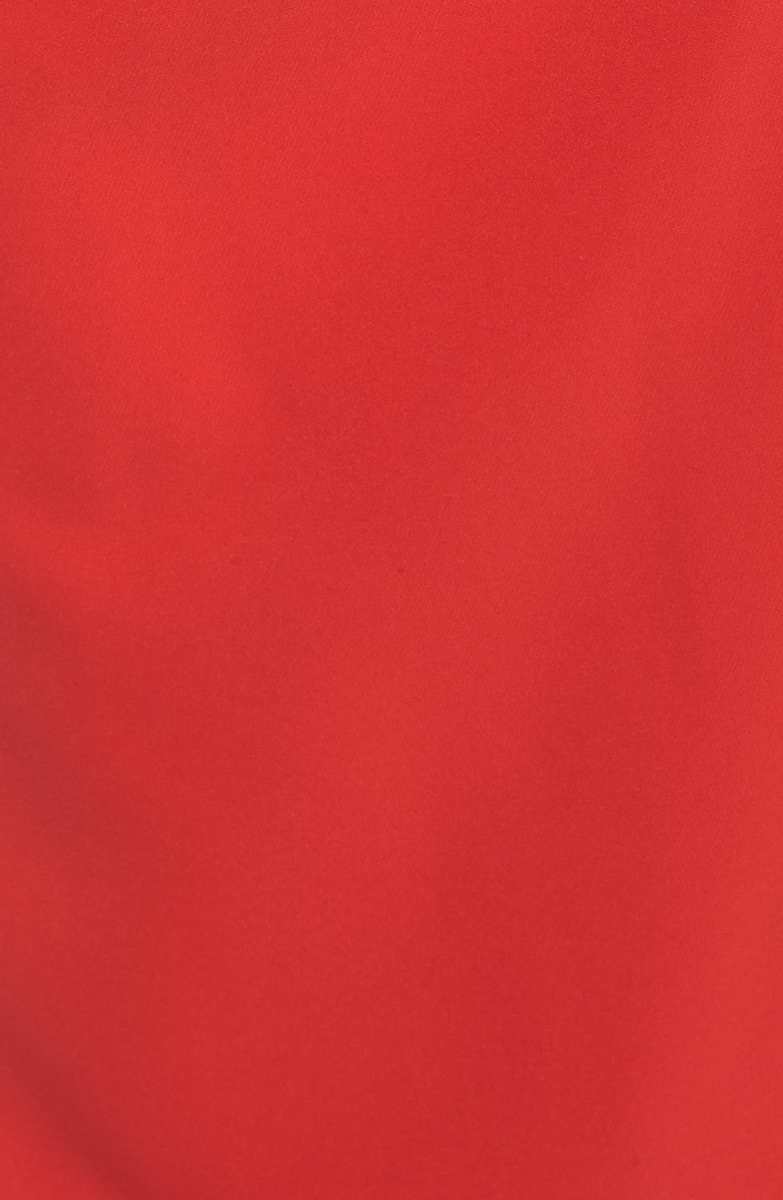 ,                             Off the Shoulder Crepe Gown,                             Alternate thumbnail 34, color,                             610
