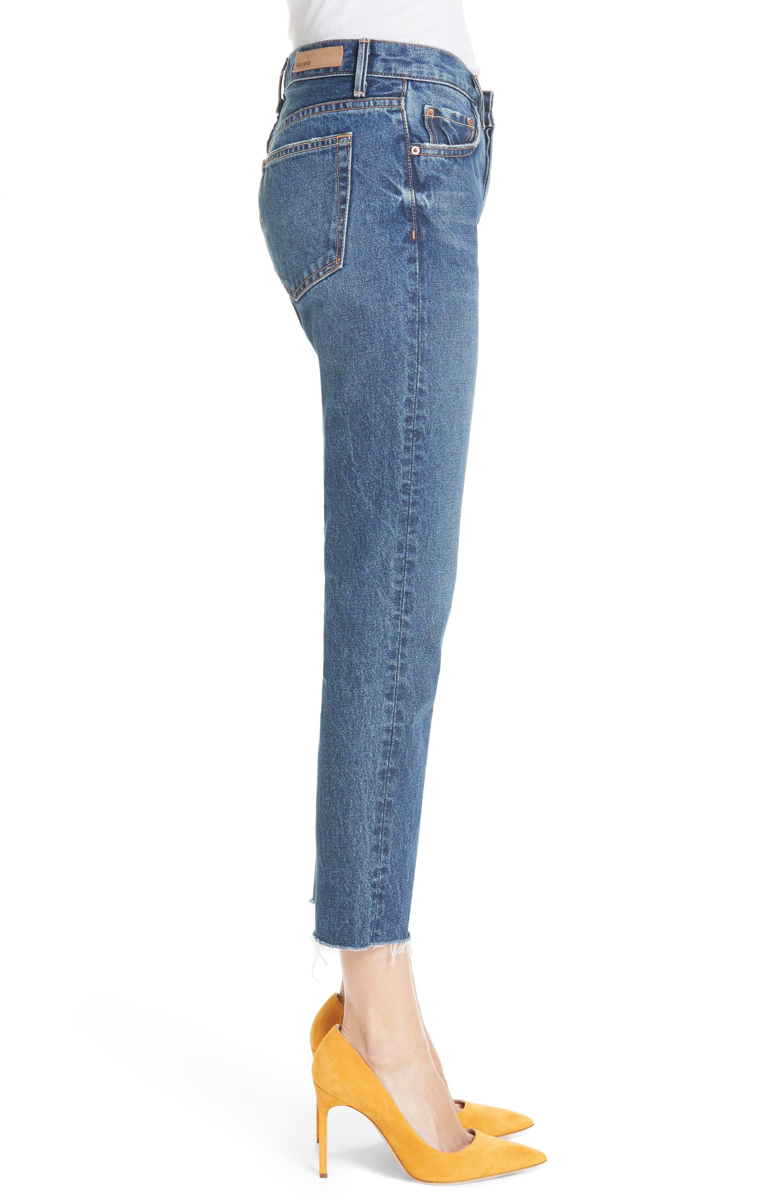 ,                             Tatum Crop Flare Jeans,                             Alternate thumbnail 4, color,                             430