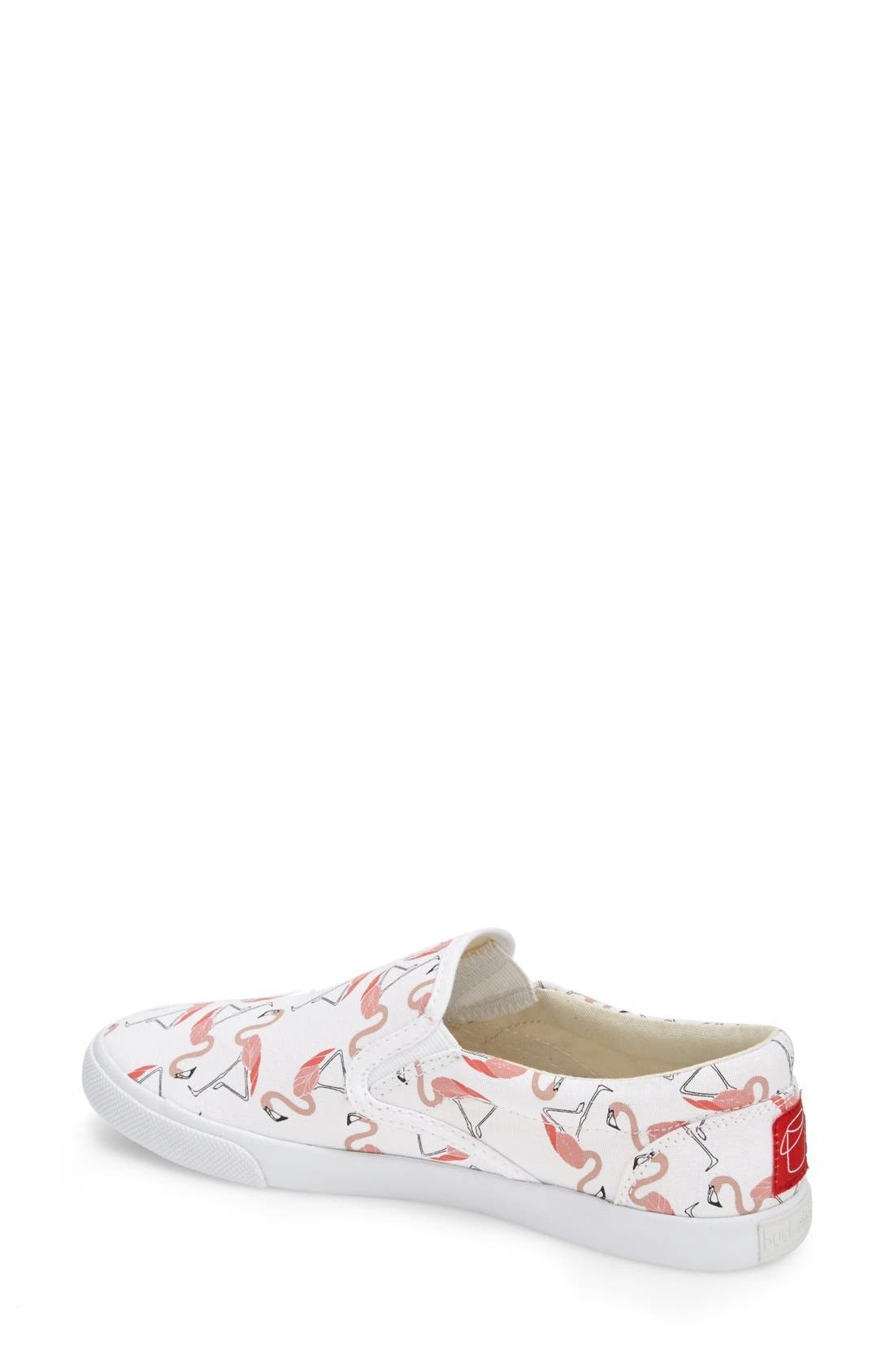 ,                             'Flamingos' Slip-On Sneaker,                             Alternate thumbnail 2, color,                             100