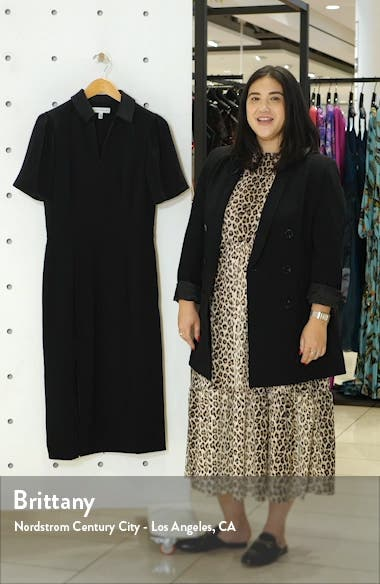 Gloria Front Zip Sheath Dress, sales video thumbnail