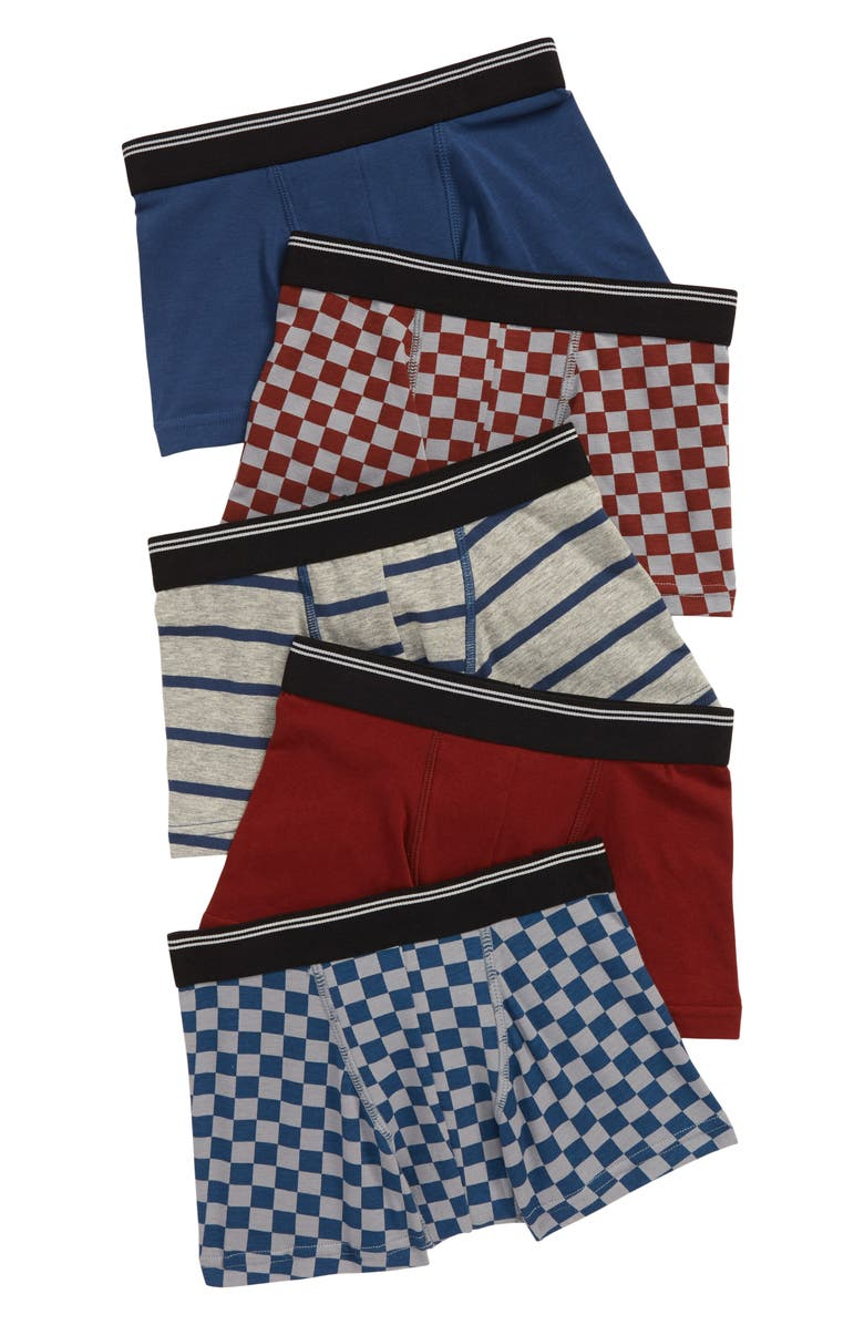 TUCKER + TATE 5-Pack Trunks, Main, color, BASIC CHECK PACK