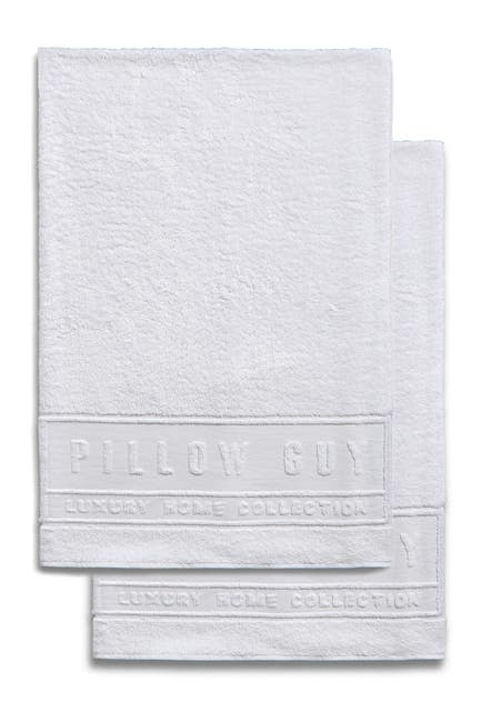 Image of Pillow Guy Oversized Bath Towels - Set of 2 - White