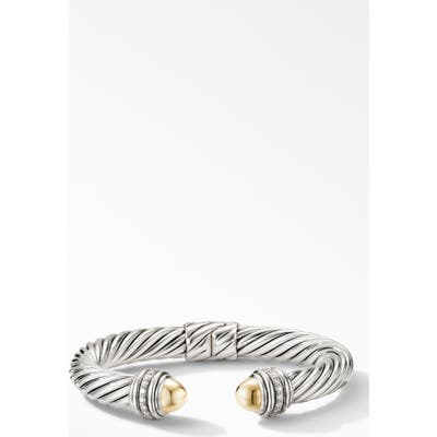 David Yurman Cable Bracelet With Diamonds, m