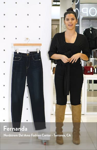 Le Sylvie High Waist Slender Straight Leg Jeans, sales video thumbnail