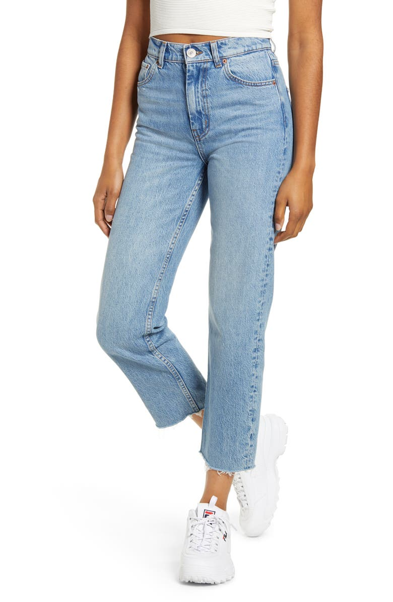 BDG URBAN OUTFITTERS Jackson Straight Leg Jeans, Main, color, 400