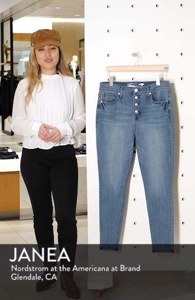 High Rise Skinny Jeans, sales video thumbnail