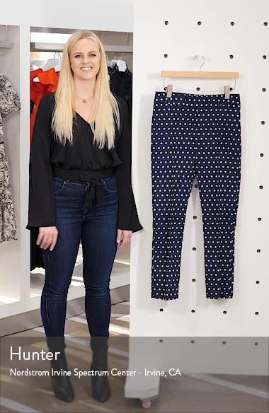 Stovepipe Polka Dot Jacquard Pants, sales video thumbnail