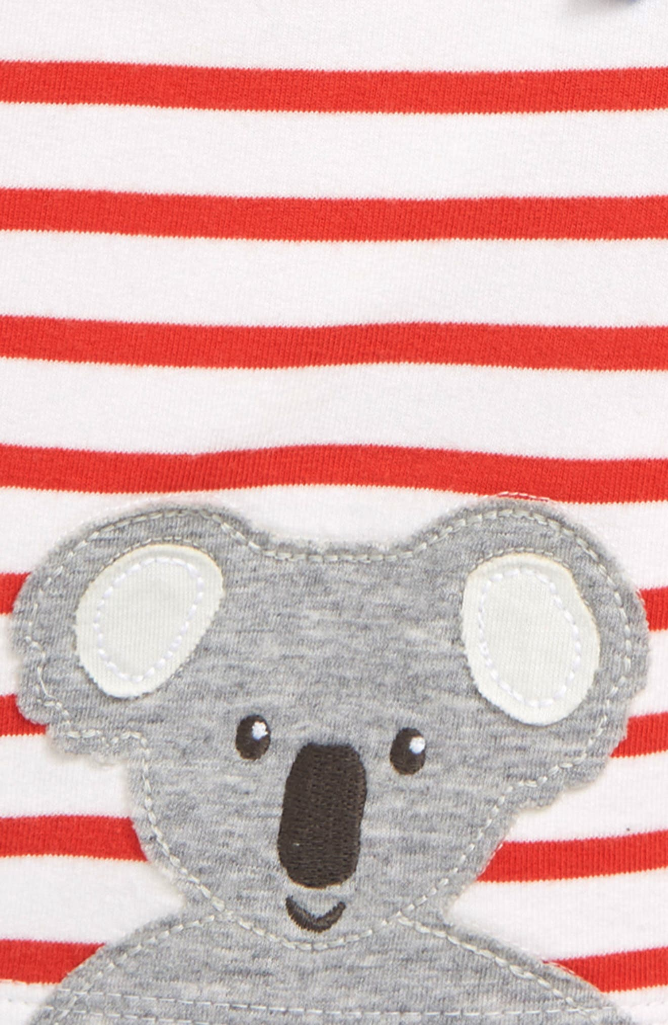 ,                             Fun Jersey Shorts,                             Alternate thumbnail 3, color,                             RED WHITE/ BEAM RED KOALA