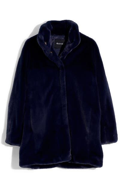 Madewell Coats FAUX FUR COAT
