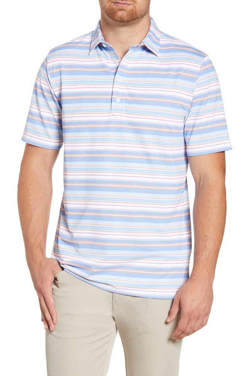 JOHNNIE-O Holt Classic Fit Stripe Polo, Main, color, 400