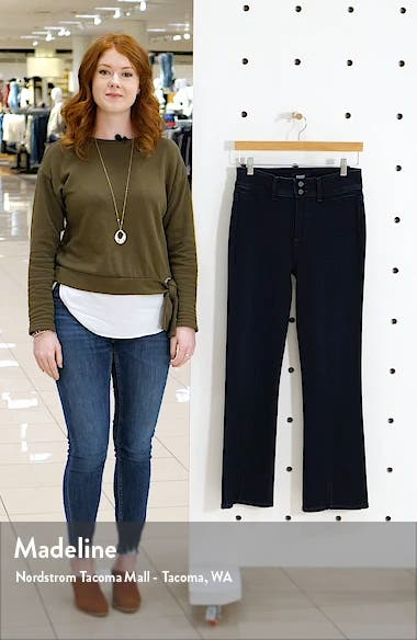 Claudine High Waist Ankle Flare Jeans, sales video thumbnail