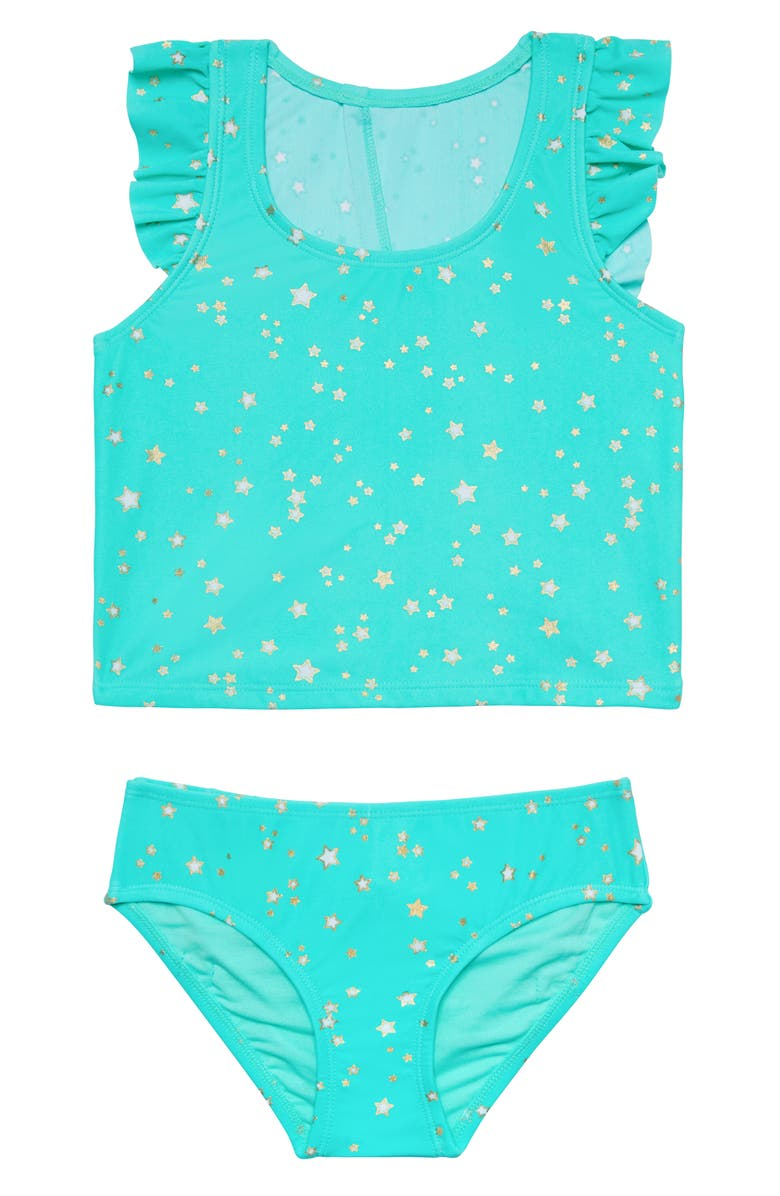 HULA STAR Wish Upon a Star Two-Piece Tankini Swimsuit, Main, color, 433