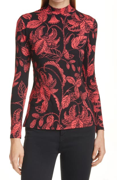 Ted Baker ROCOCO PRINT FITTED TOP