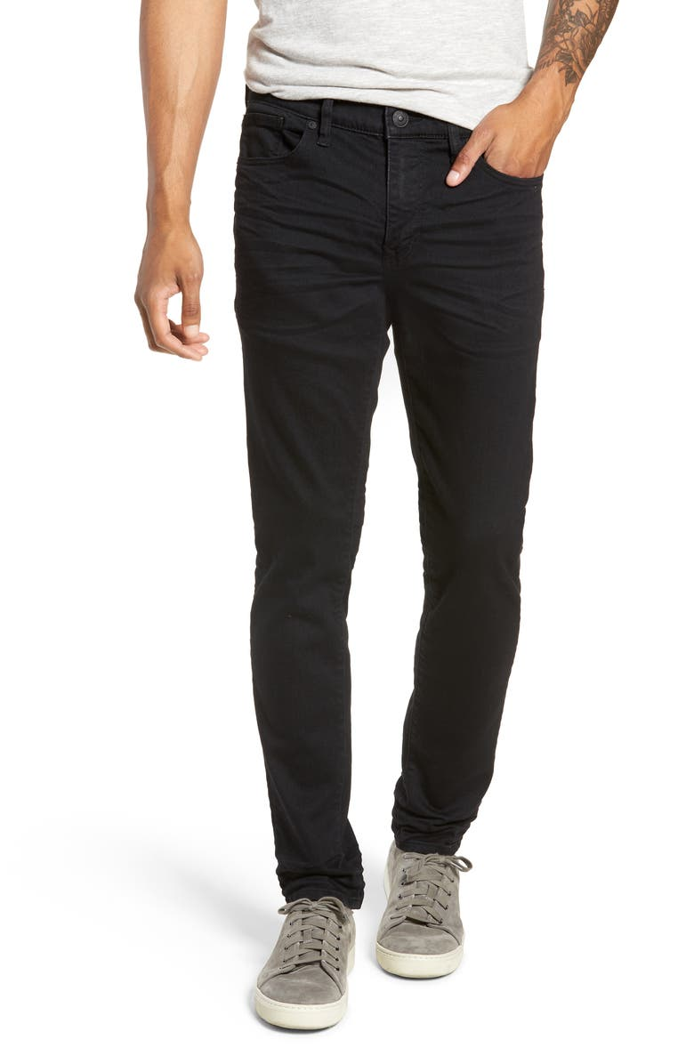 SILVER JEANS CO. Machray Straight Leg Jeans, Main, color, BLACK