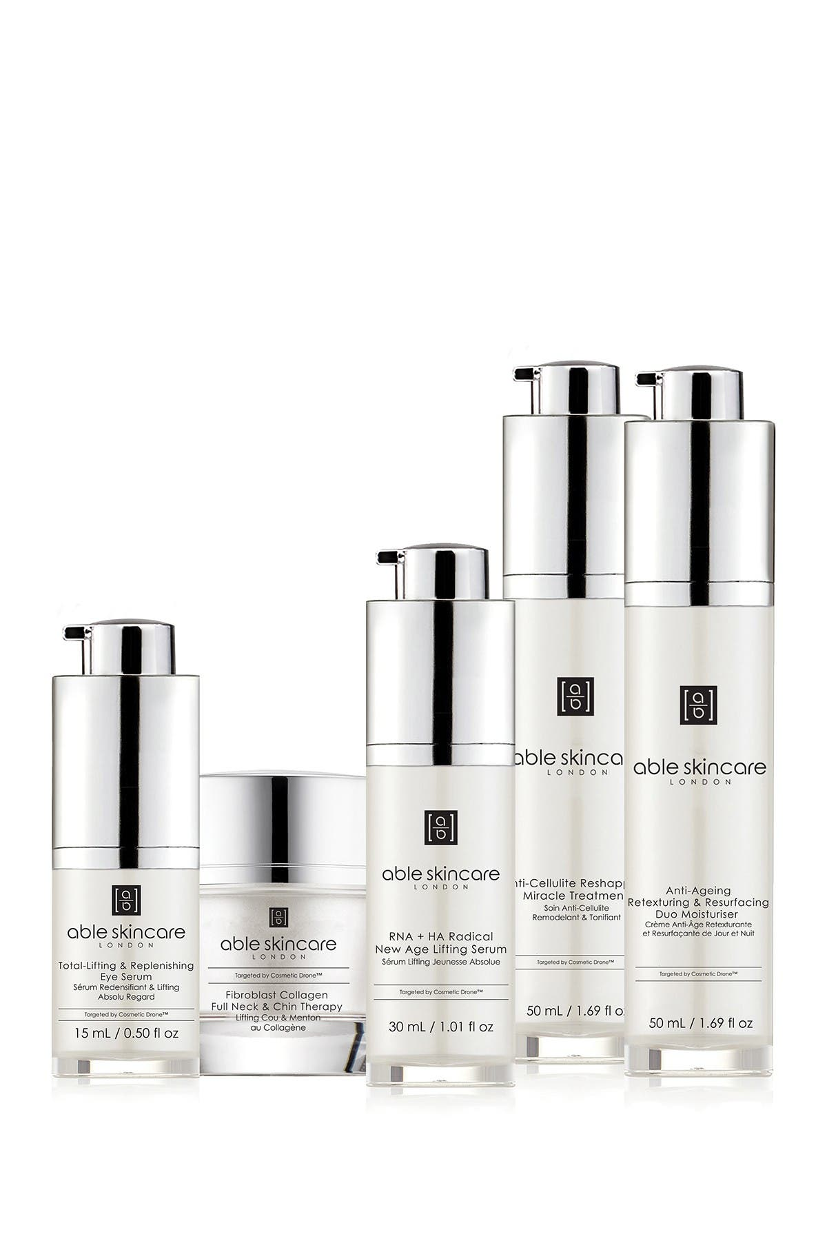 Image of Able Skincare Full Cosmetic Drone Discovery 5-Piece Set