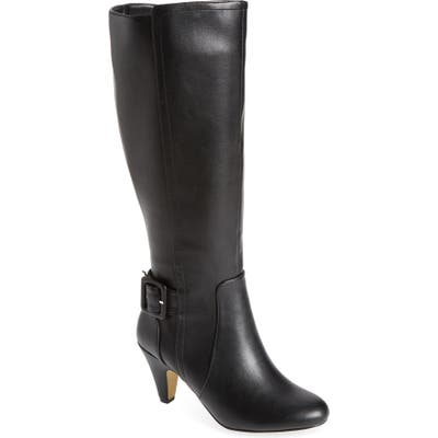 Bella Vita Troy Ii Knee High Boot, Black