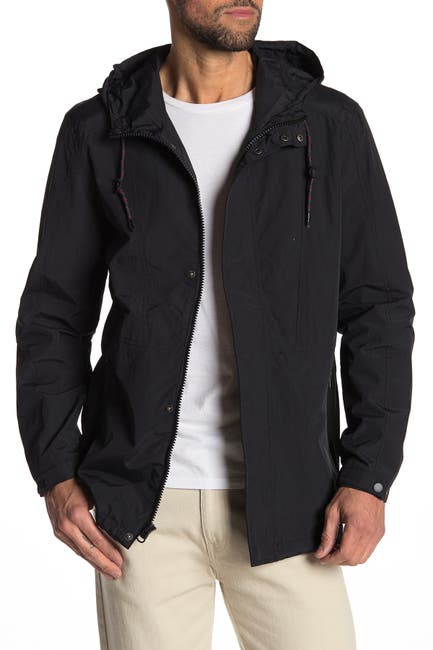 Image of Andrew Marc Hooded Drawstring Jacket