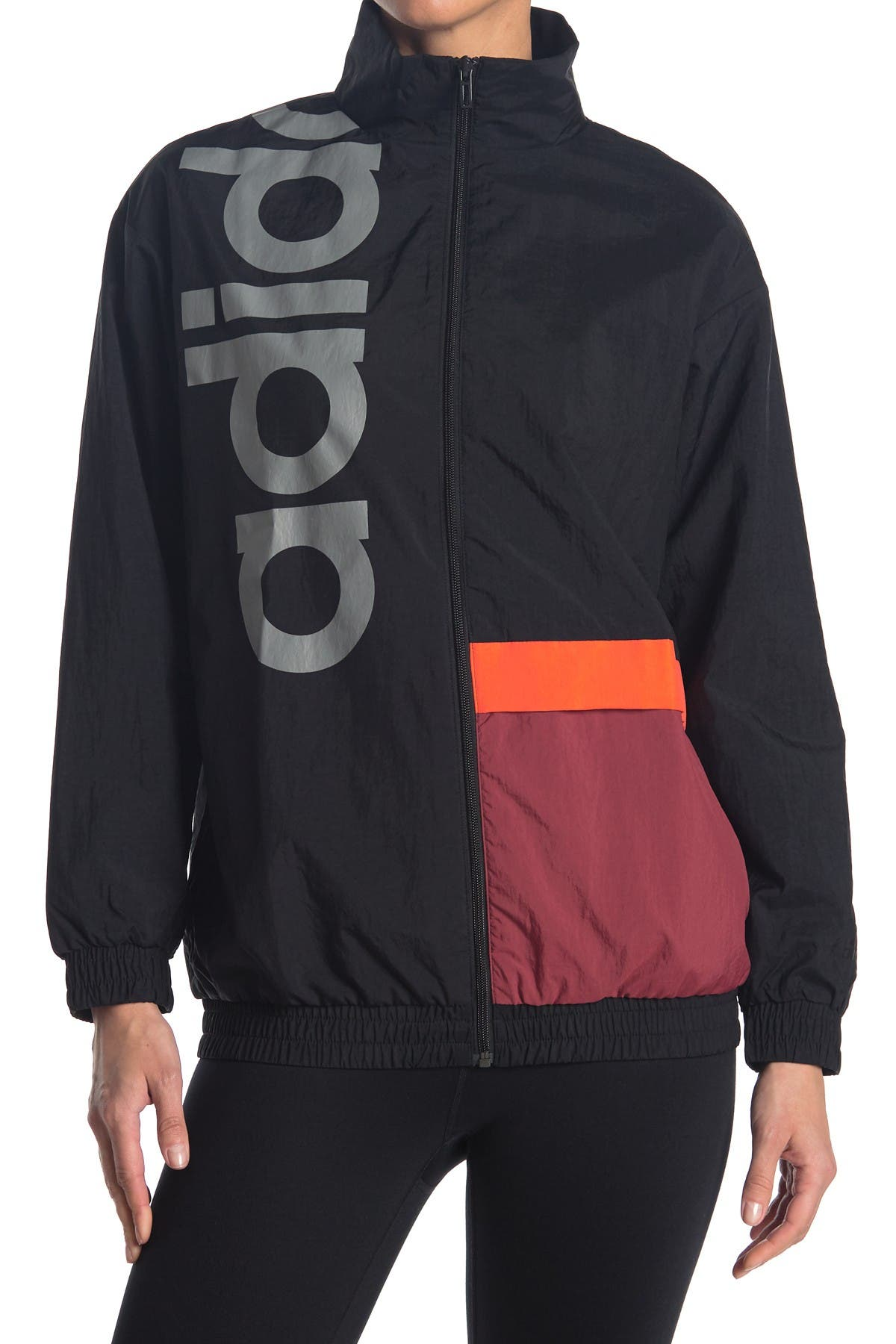 Image of adidas Colorblock Zip Front Jacket