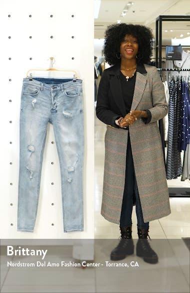 Van Winkle Krow Trashed Skinny Jeans, sales video thumbnail