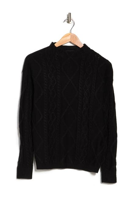 Image of Love by Design St. Moritz Textured Mock Neck Sweater