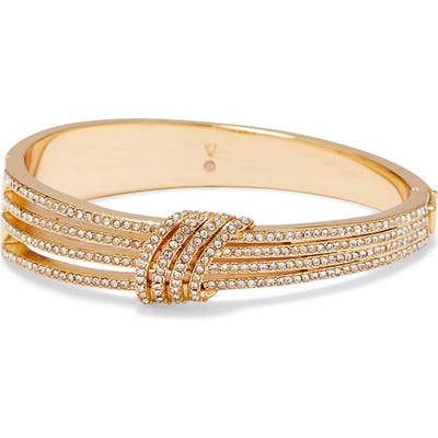 Vince Camuto Knot Pave Crystal Bangle