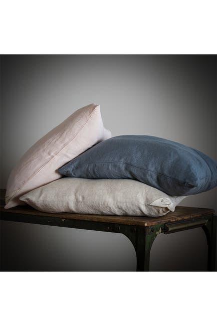 Image of YaYa & Co. Swara Blush Linen Blend Pillow