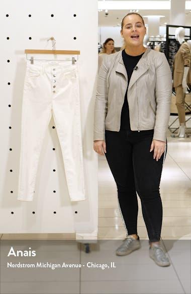 Lillie High Waist Crop Skinny Jeans, sales video thumbnail