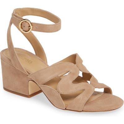 Michael Michael Kors Annalee Ankle Strap Sandal, Brown