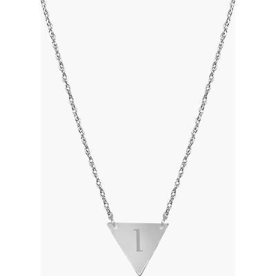 Jane Basch Designs Personalized Initial Pendant Necklace
