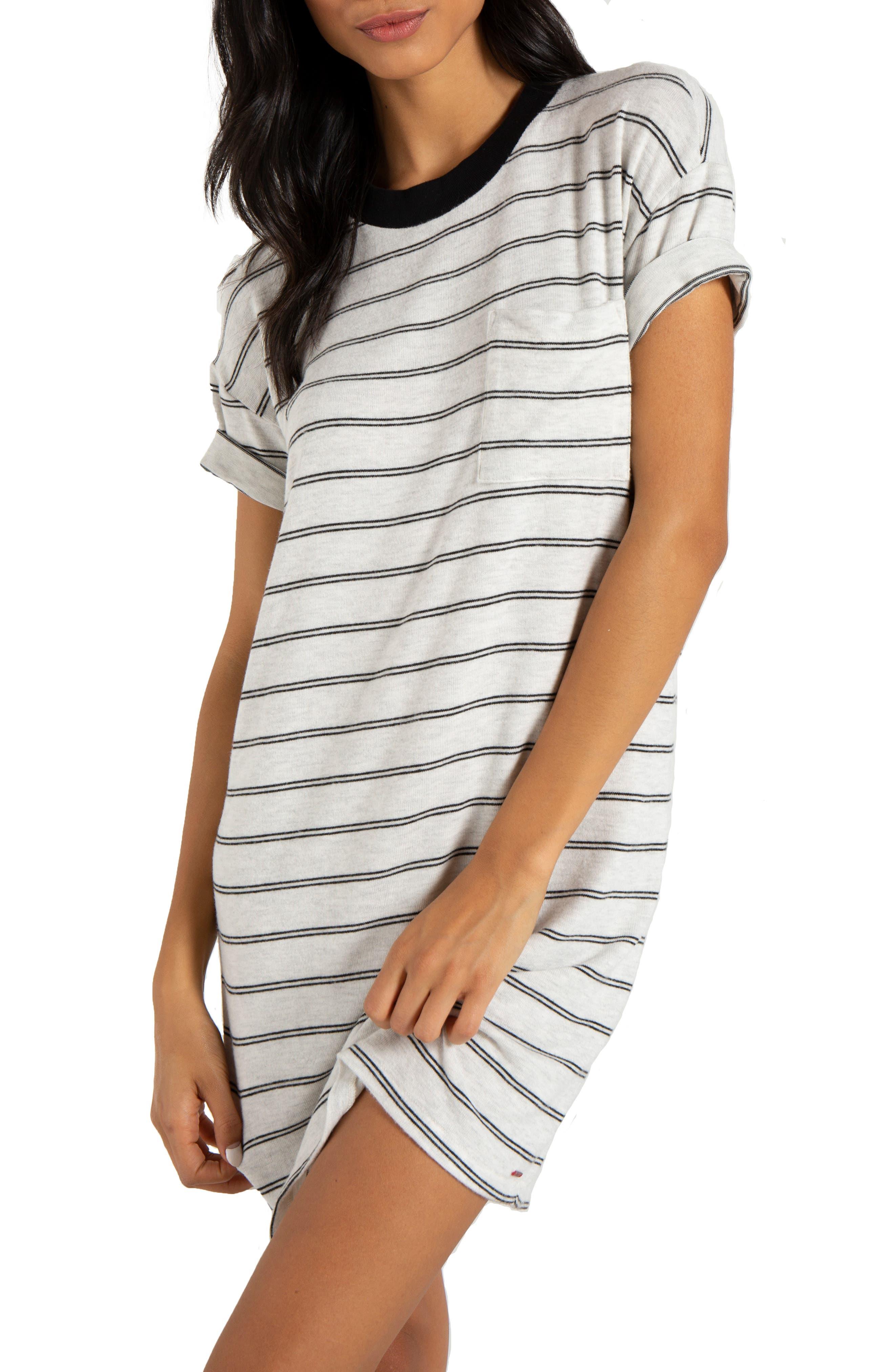 ,                             Cortez T-Shirt Dress,                             Alternate thumbnail 3, color,                             100