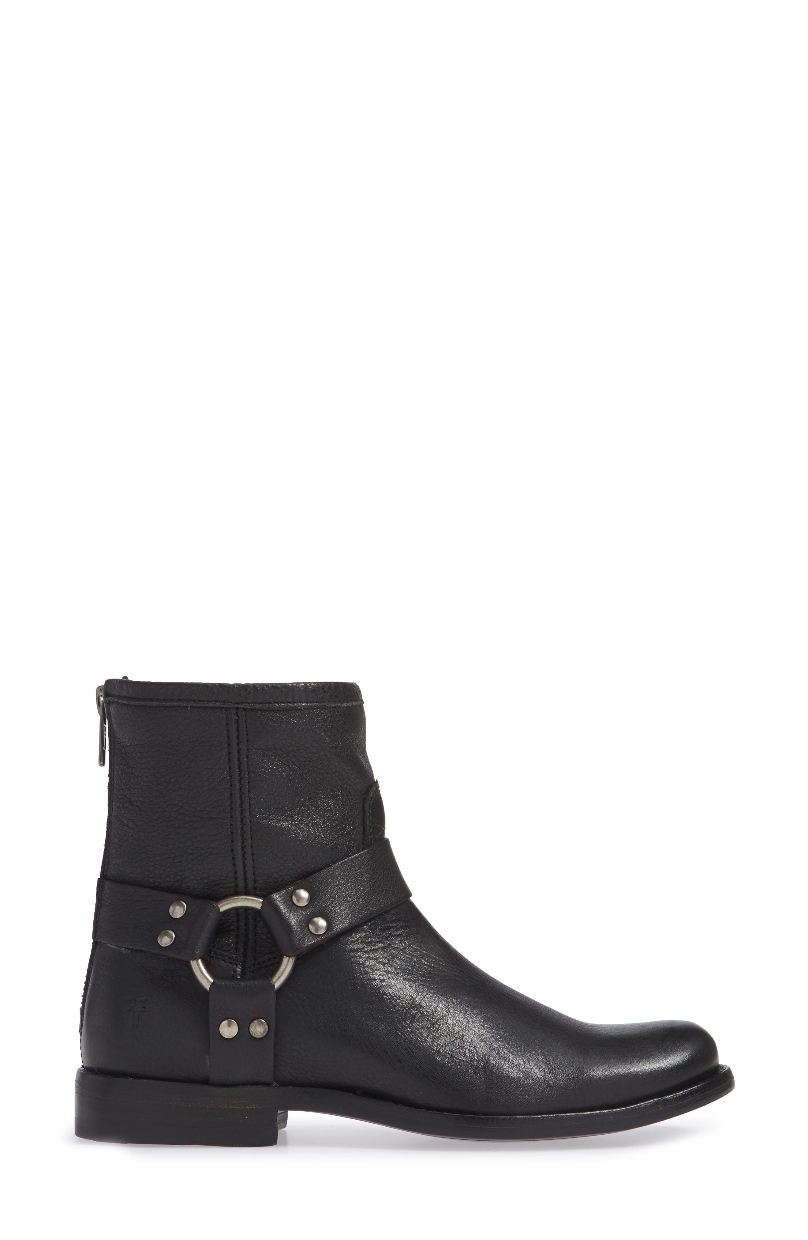 ,                             'Phillip' Harness Boot,                             Alternate thumbnail 3, color,                             002