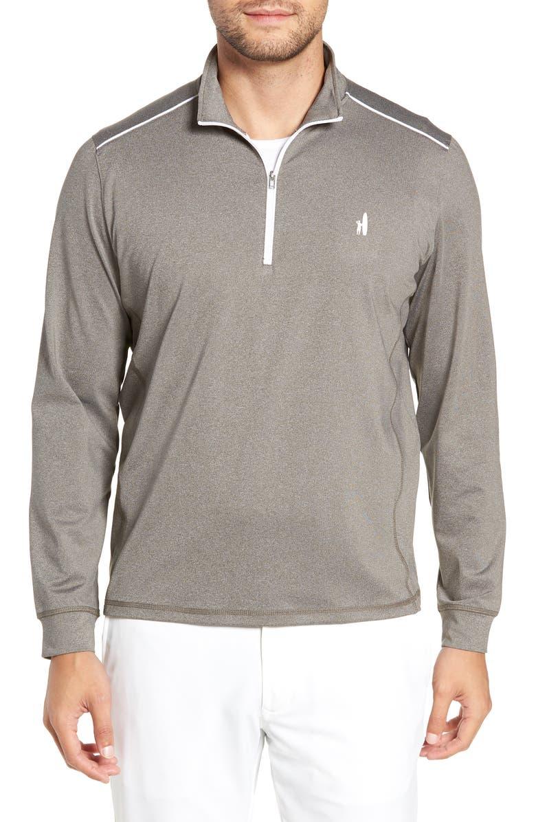 JOHNNIE-O Lammie Regular Fit Quarter Zip Prep-Formance Pullover, Main, color, 021