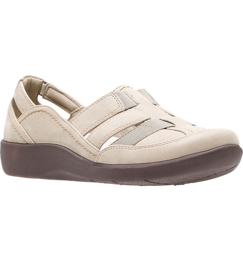 CLARKS<SUP>®</SUP> Sillian Stork Flat, Main, color, SAND