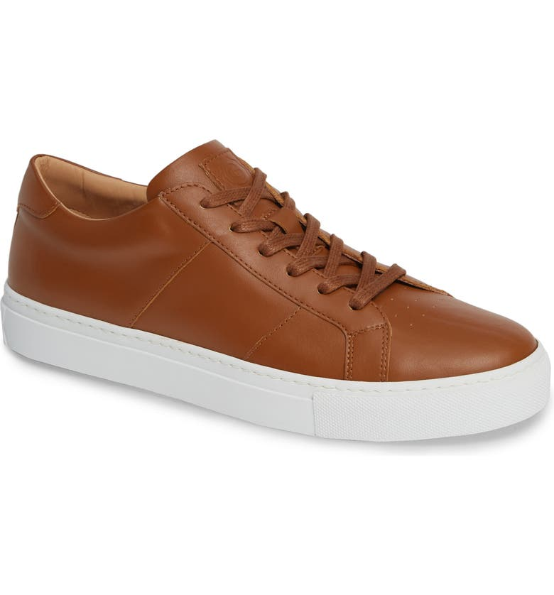 GREATS Royale Sneaker, Main, color, TAN LEATHER