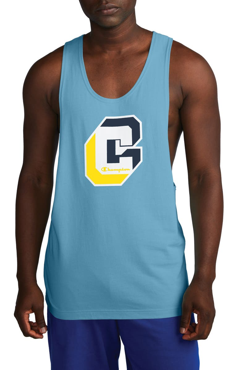 CHAMPION Shadow C Heritage Graphic Tank, Main, color, 400