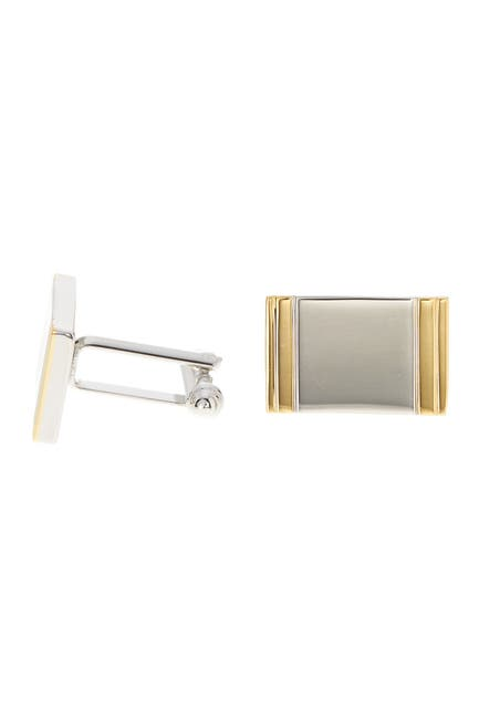 Image of Cufflinks Inc. Two-Tone Framed Rectangle Cuff Links