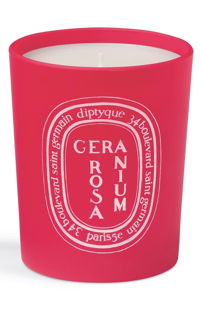 DIPTYQUE Geranium Rosa Candle, Main, color, 000