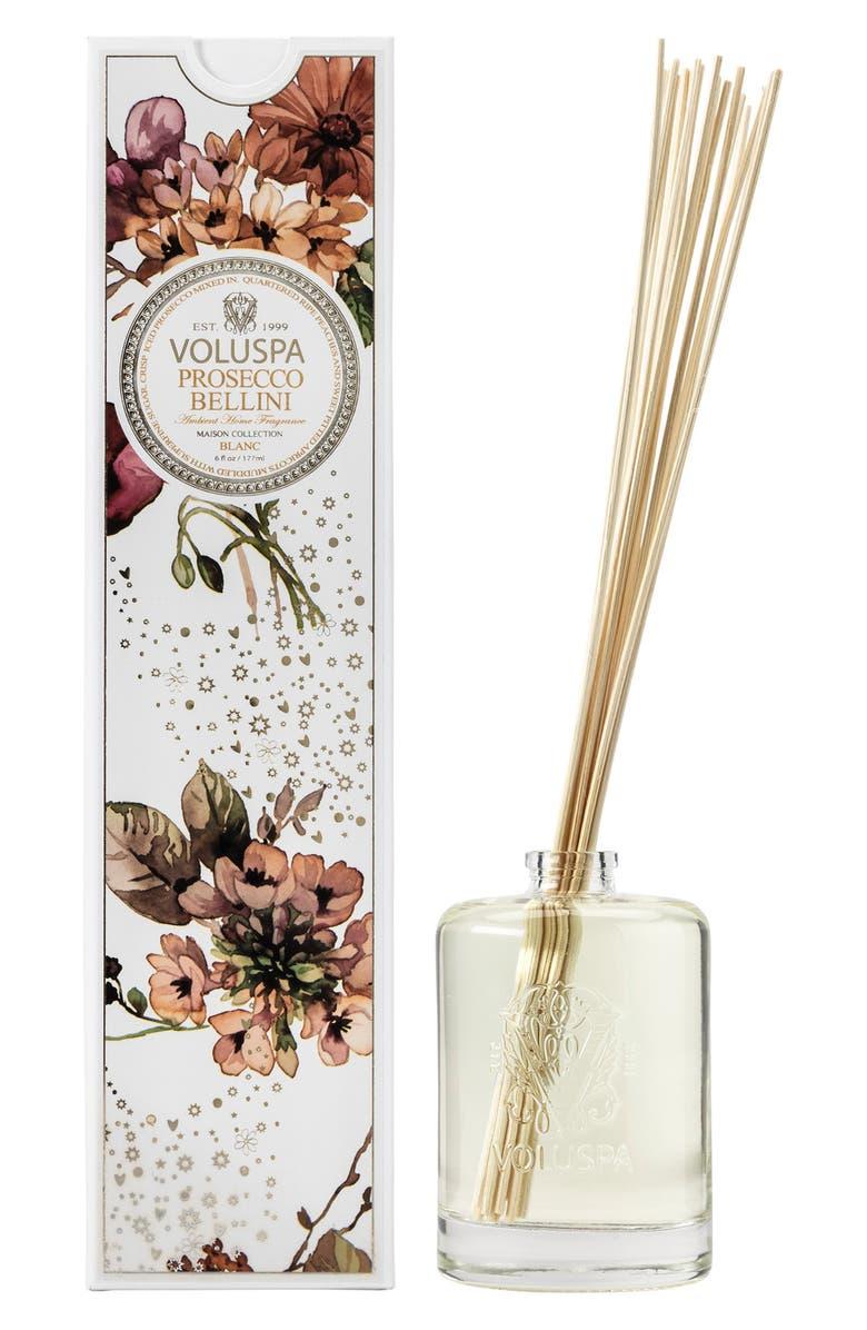 VOLUSPA Maison Blanc Prosecco Bellini Fragrance Oil Diffuser, Main, color, 960