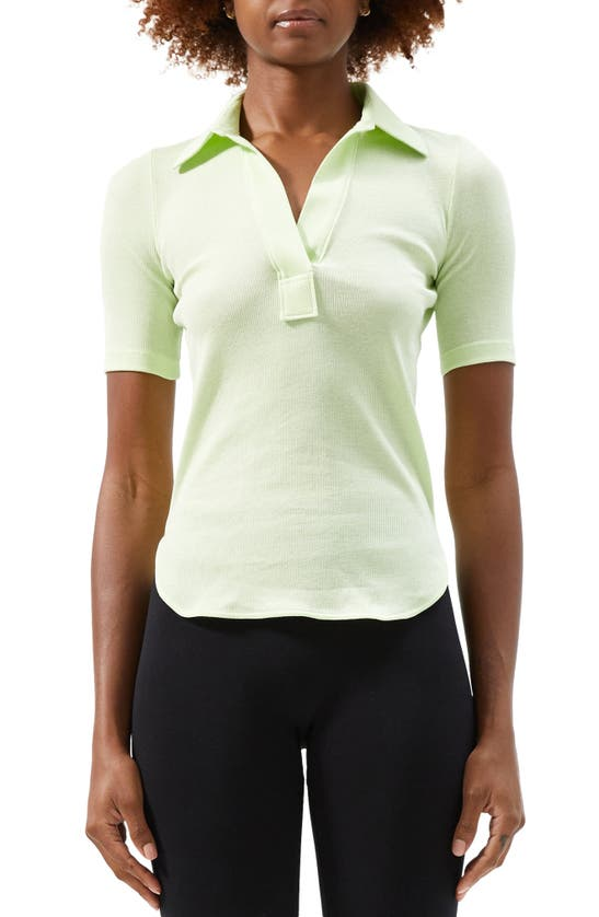 Helmut Lang Cottons SKINNY COTTON POLO