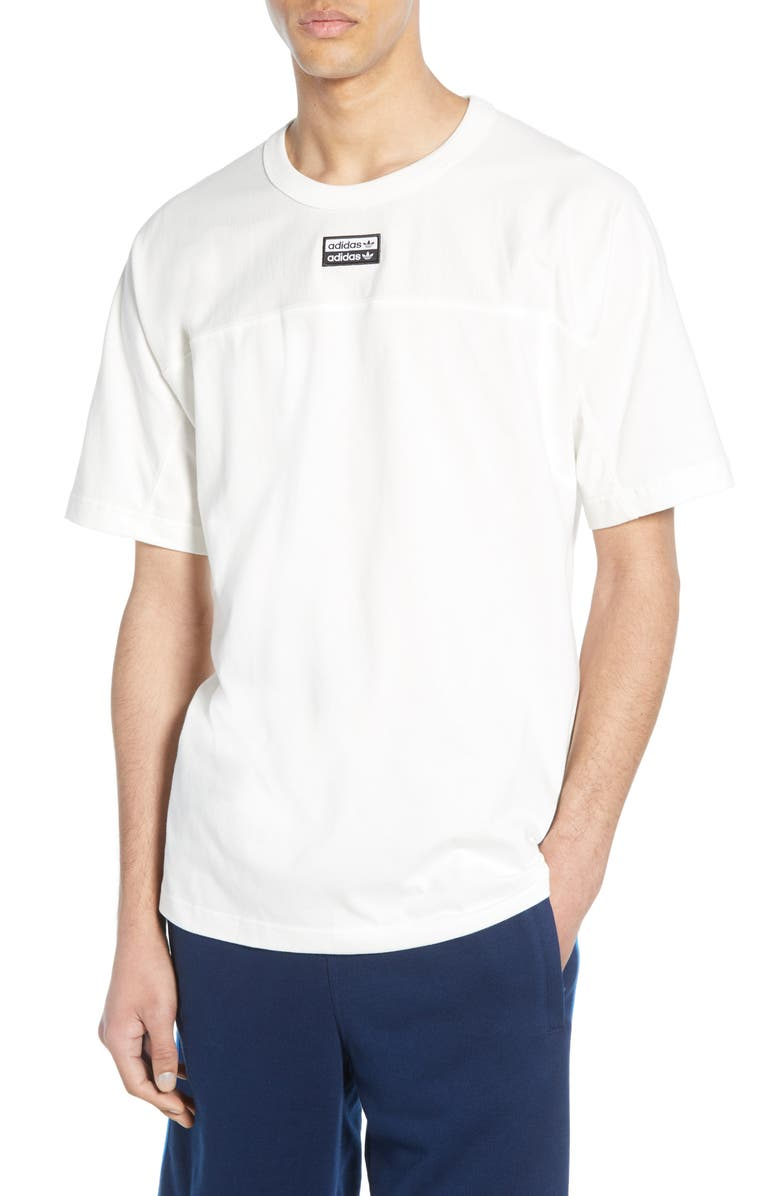 ADIDAS ORIGINALS Vocal J T-Shirt, Main, color, CORE WHITE