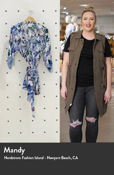 Michelle Floral Wrap, sales video thumbnail