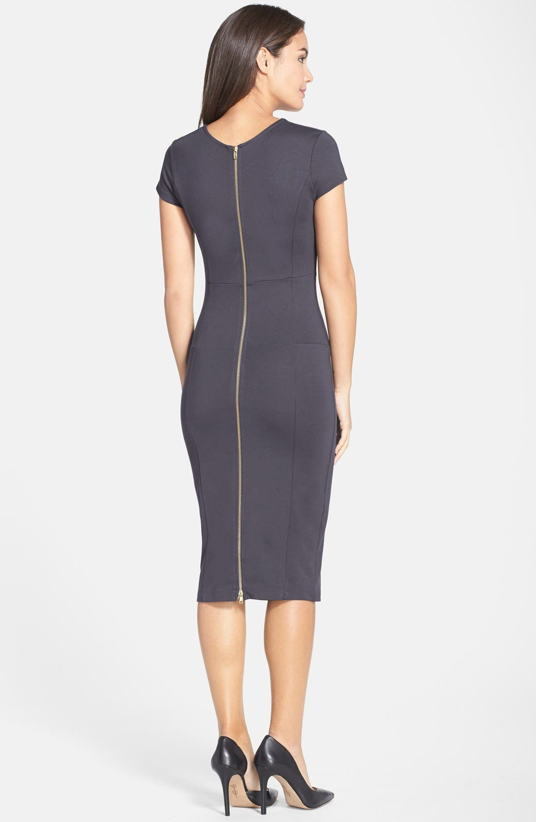 ,                             Ward Seamed Pencil Dress,                             Alternate thumbnail 34, color,                             039