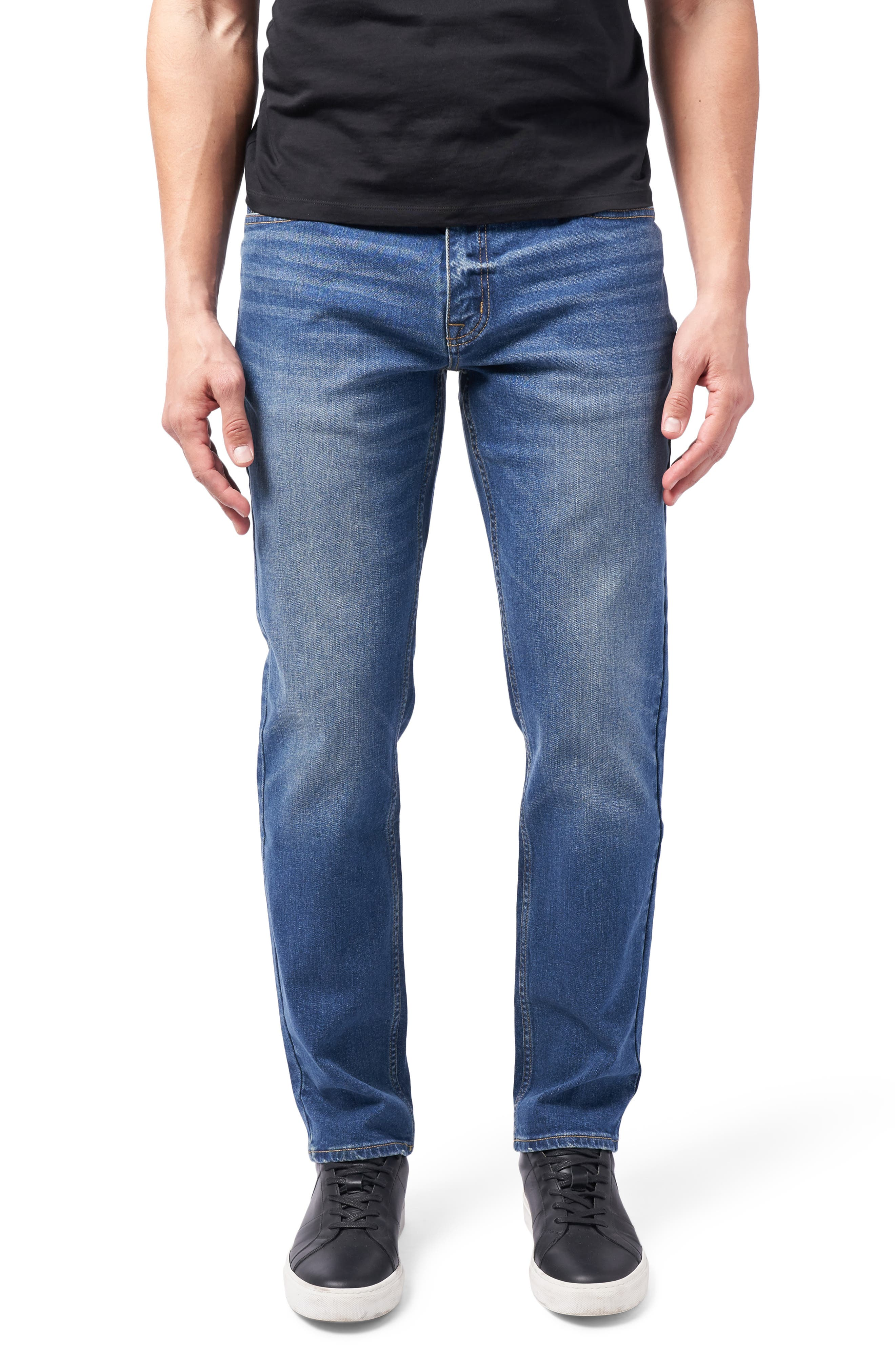 Performance Stretch Athletic Fit Jeans