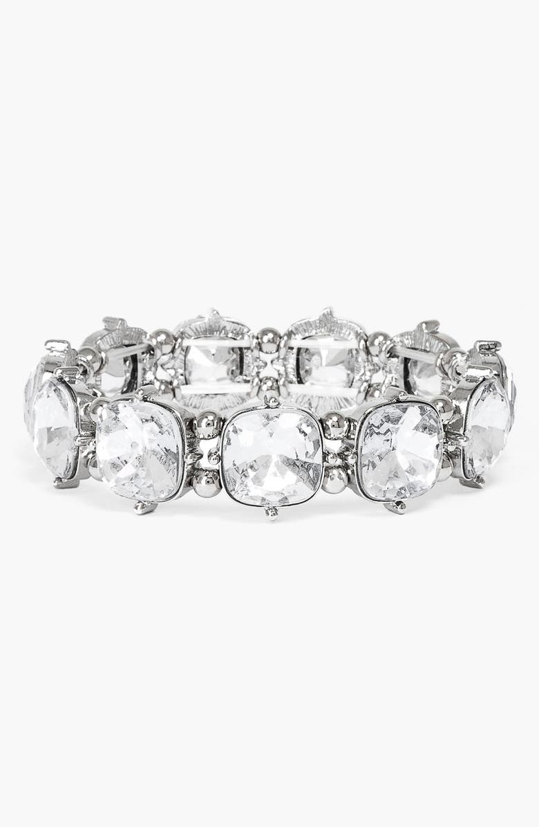 BAUBLEBAR Stone Stretch Bracelet, Main, color, 040