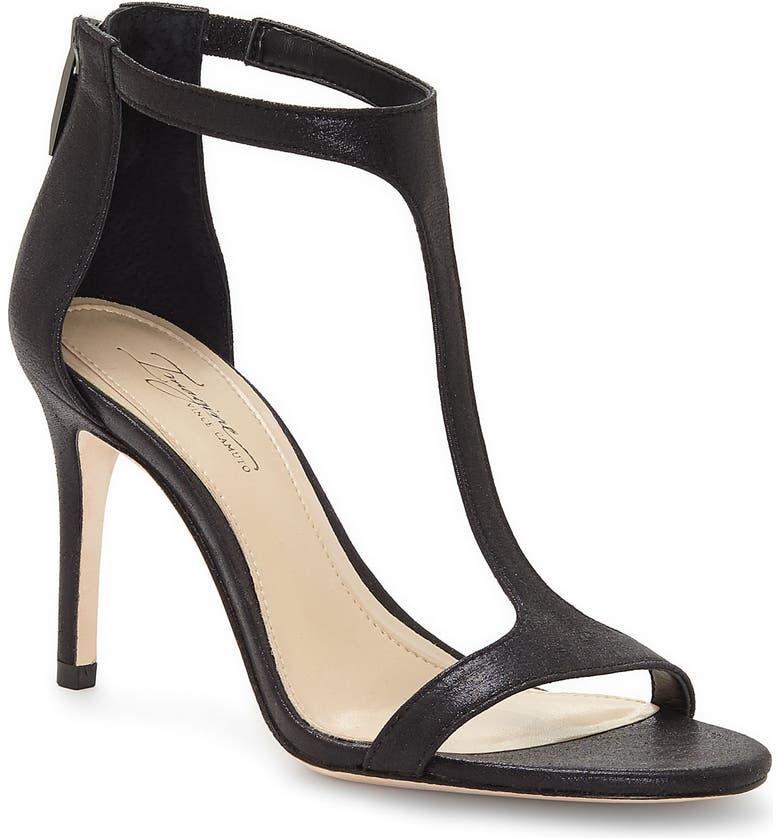 IMAGINE BY VINCE CAMUTO 'Phoebe' Embellished T-Strap Sandal, Main, color, 001