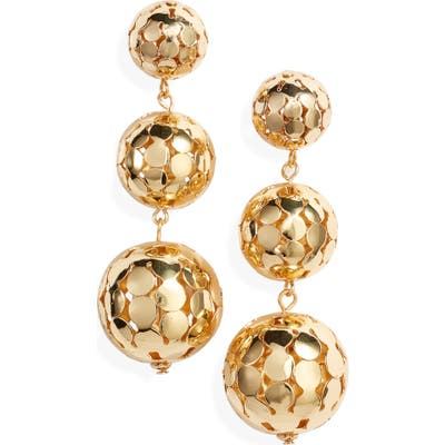 Ettika Sphere Drop Earrings