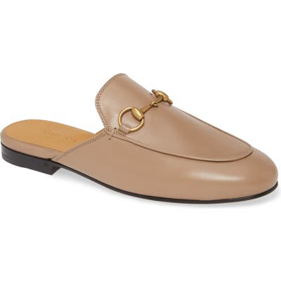 Gucci Princetown Loafer Mule, Brown
